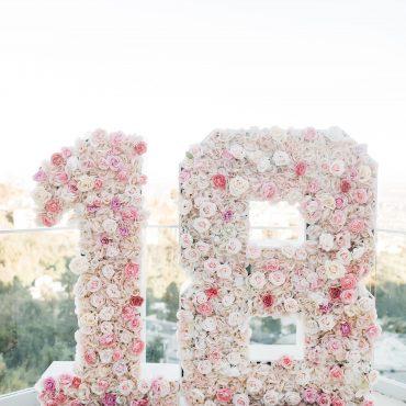 Flower number rental