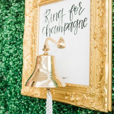 Living Champagne Wall