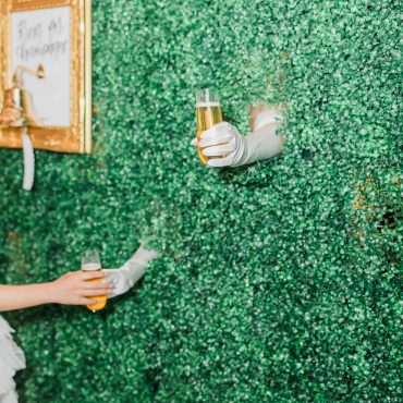 Champagne Wall Rental