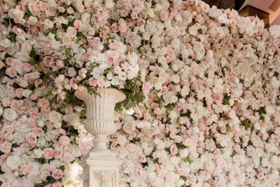 Flower Wall Rental Los Angeles