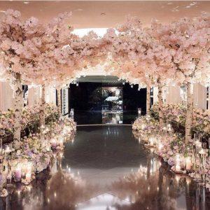 Cherry Blossom Tree Wedding