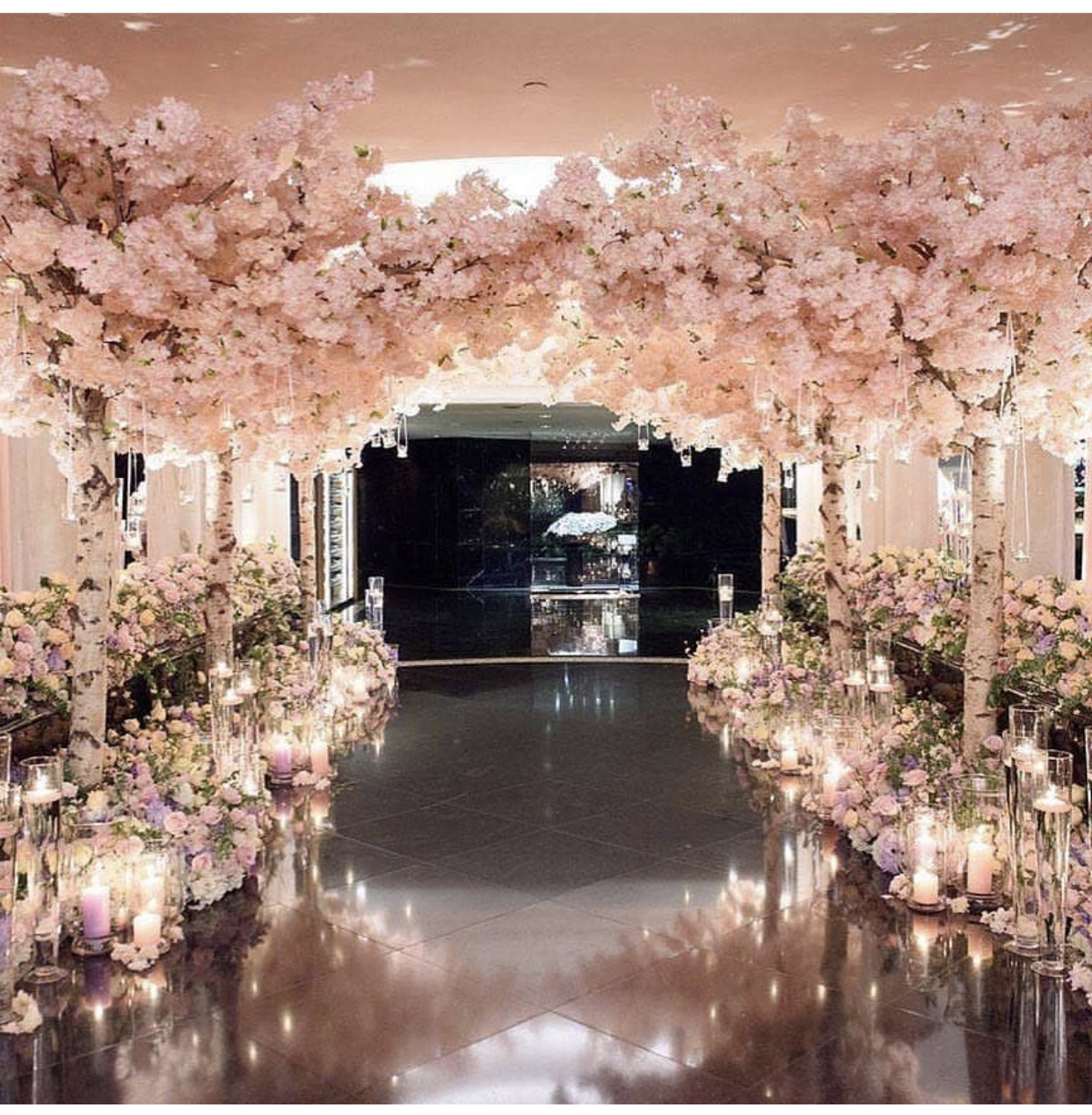 Cherry Blossom Tree Wedding