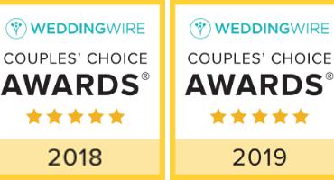 Wedding Wire's Couple's Choice Award!