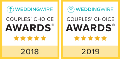 Wedding Wire's Couple's Choice Award!
